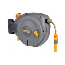 2485 Катушка Авто HoZelock Pro со шлангом 1/2 10 м, с коннекторами и наконечником для шланга