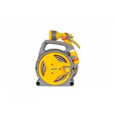 2425 Катушка Мини HoZelock Pico Reel со шлангом Pico 8м + 2м 7,5мм и комплектом фитингов